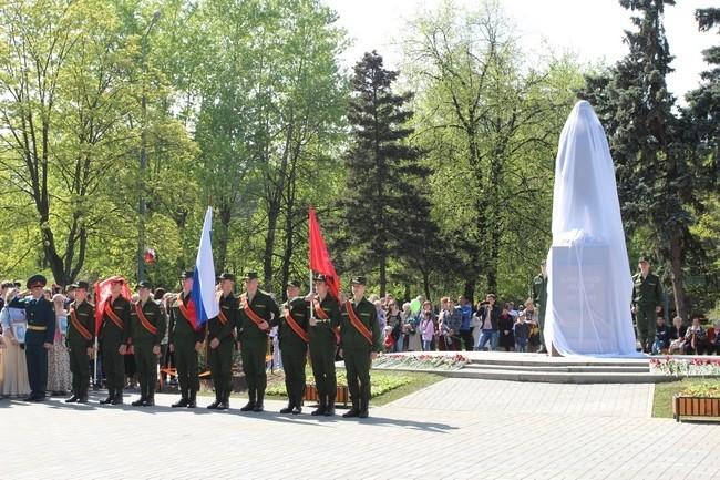 Открытие памятника Памятник лётчику А. Ф. Авдееву