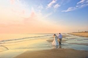 счастливая пара свадьба