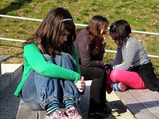 ссора девочек