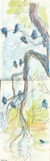 Sketching outdoors 0099