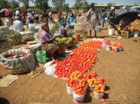 Wochenmarkt in Moshi