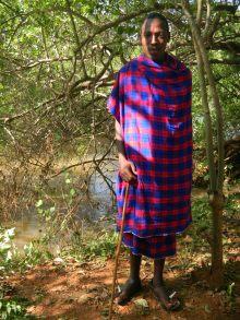 Junger Massai