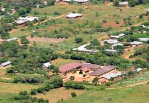 Luftaufnahme vom Hope centre