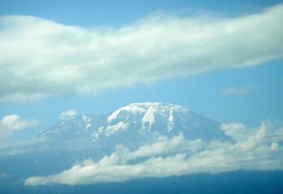 Letzter Bick zum Kilimanjaro