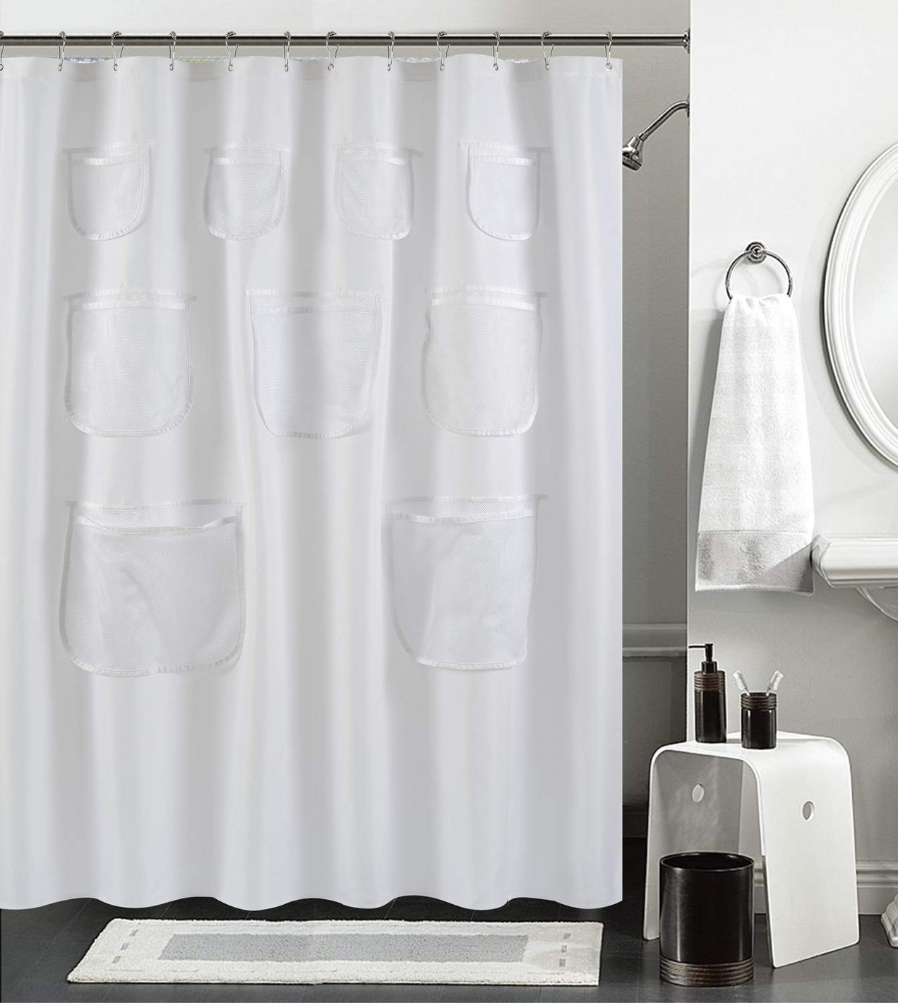 11 best shower curtains 2019 for Fabric Shower Curtains