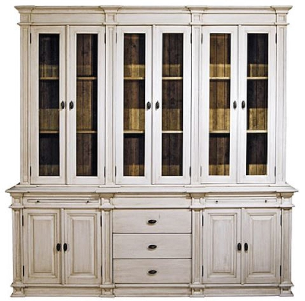 casa padrino country style kitchen cabinet antique white / brown 225 throughout Country Style Kitchen Cabinets