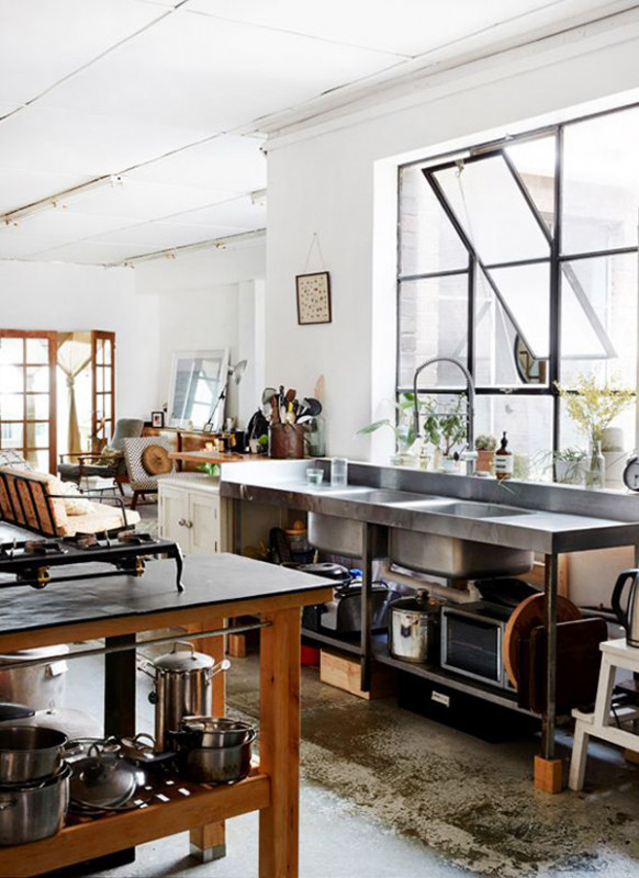 Cool And Minimalist Industrial Kitchen Design | Home ...