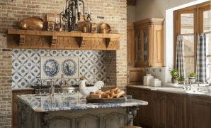 country french kitchens | traditional home for Classic French Country Furniture