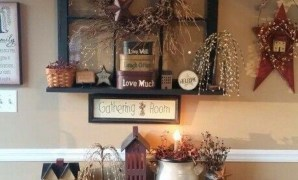 love this look! <3 #primitivecountrydecorating | primitive country with Primitive Country Decor