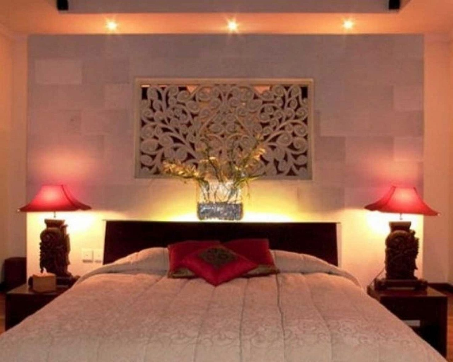 Modern Bedroom Lights, Modern Bedroom Ceiling Lighting Ideas Home inside How to Decorate Modern Bedroom with Lighting Design Ideas - modern bedroom with lighting