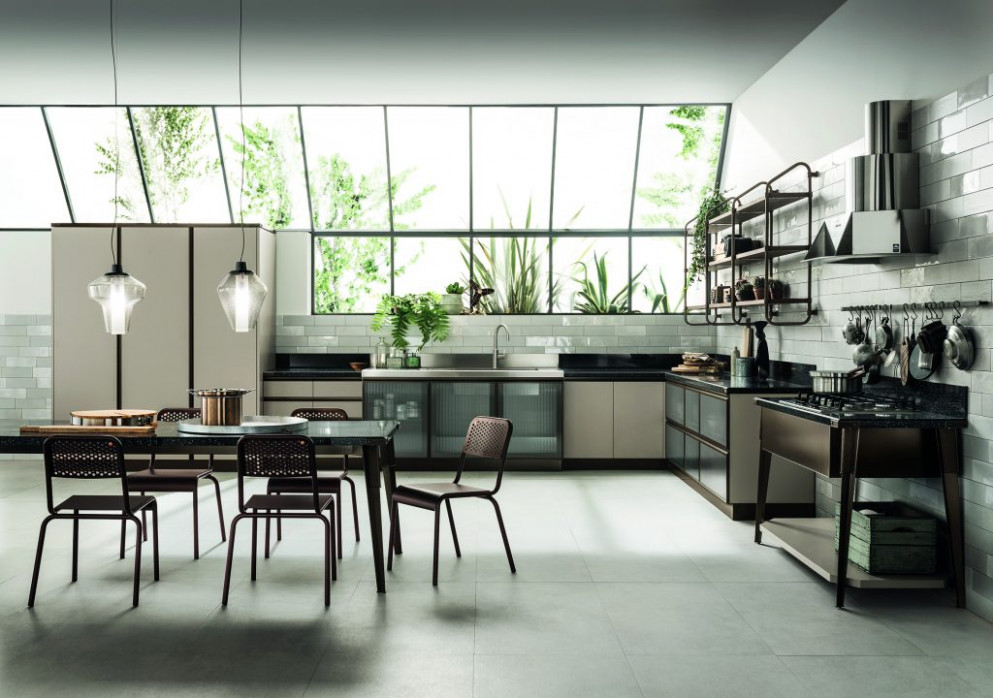 Open Industrial Kitchen Design | For Residential Pros
