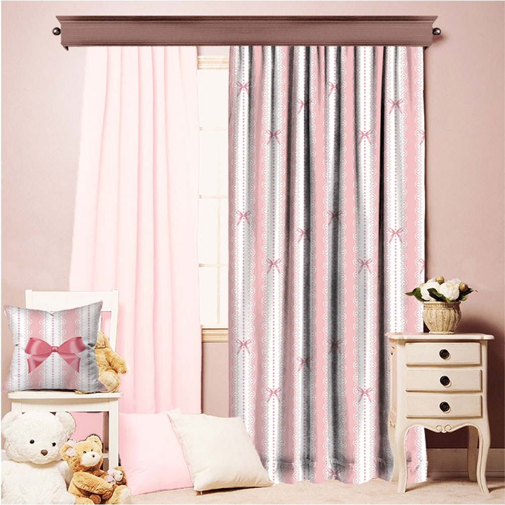 romantic lace pattern single piece curtain with Five Ways To Dress Your Windows With Lace Curtains