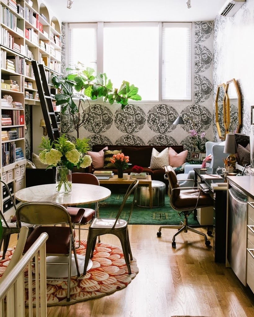 13 brilliant tips for decorating a small space | a cup of jo within Decorate A Small Space