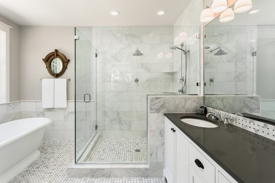4 luxurious bathroom shower designs | natale builders with Two Tanks Bathrooms