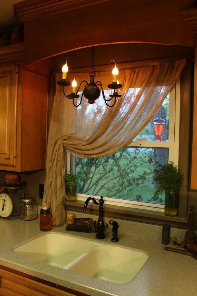 beautiful primitive kitchen curtains inside Primitive Curtains Decor