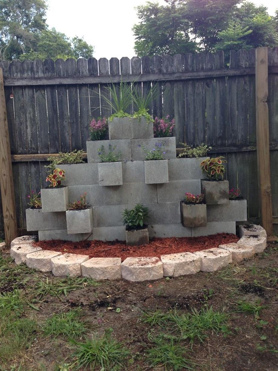 decorative concrete blocks for garden walls 28 - viralinspirations throughout Garden Concrete Blocks