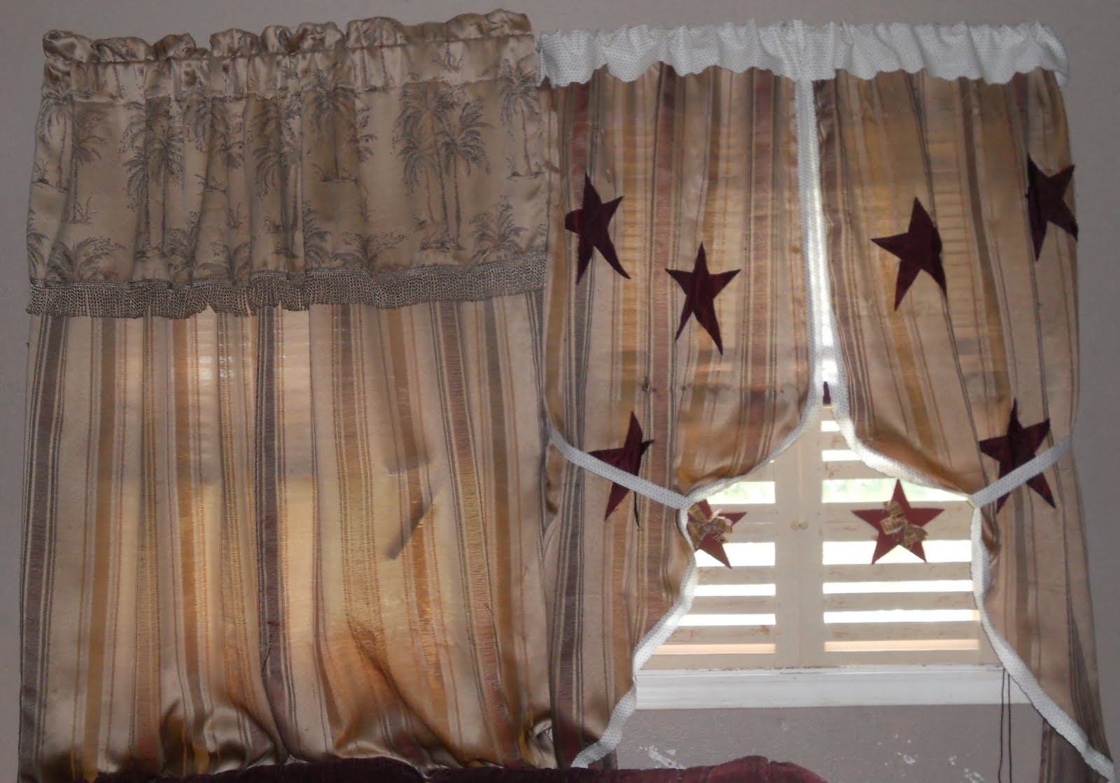 primitive curtains, the gingham goose – fine period reproductions for Primitive Curtains Decor