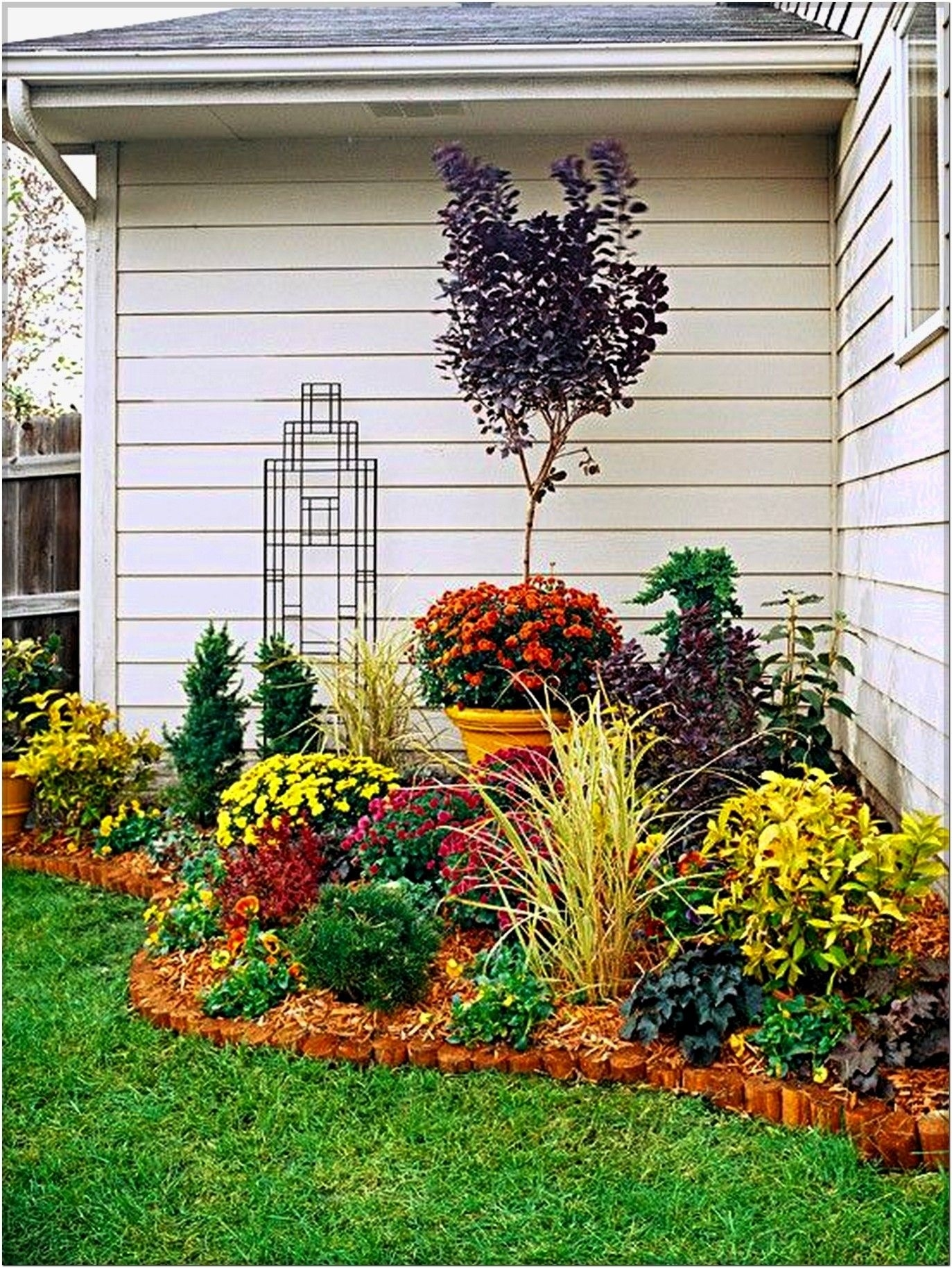 welcome to the 2015 southern home fall tour | garden | flower garden intended for Decorating A Small Garden