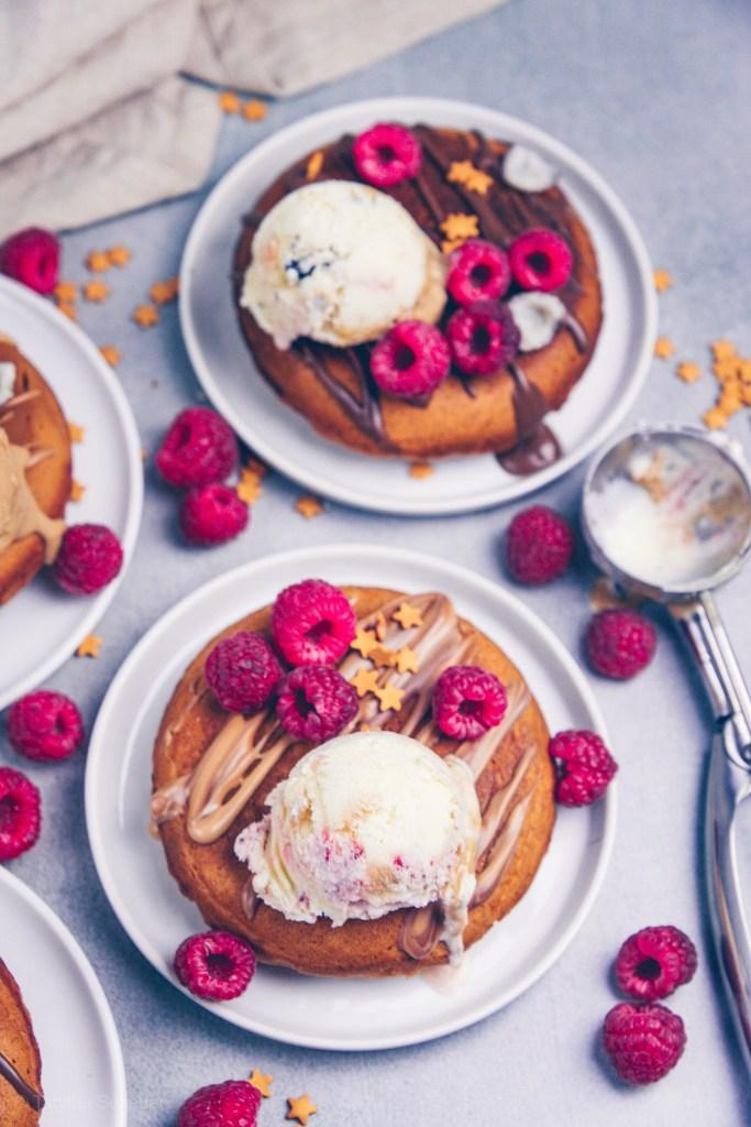 Fluffige Zimt Pancakes