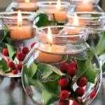 DIY CHRISTMAS FLOATING CANDLES