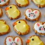 Pretzel Bunny And Ducks