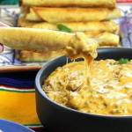 CHEESY TAQUITO BEEF QUESO DIP