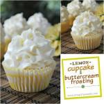Lemon Cupcake with Lemon Buttercream Frosting