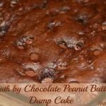 Death By Chocolate Peanut Butter Dump Cake