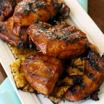 SWEET & SPICY GRILLED STICKY CHICKEN