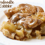 SNICKERDOODLE APPLE COBBLER