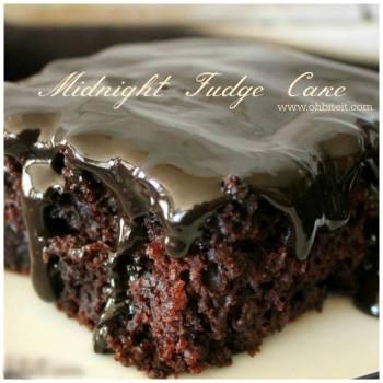 Midnight Fudge Cake