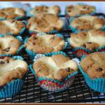 CHOCOLATE CHIP ROLO CHEESECAKE MUFFINS