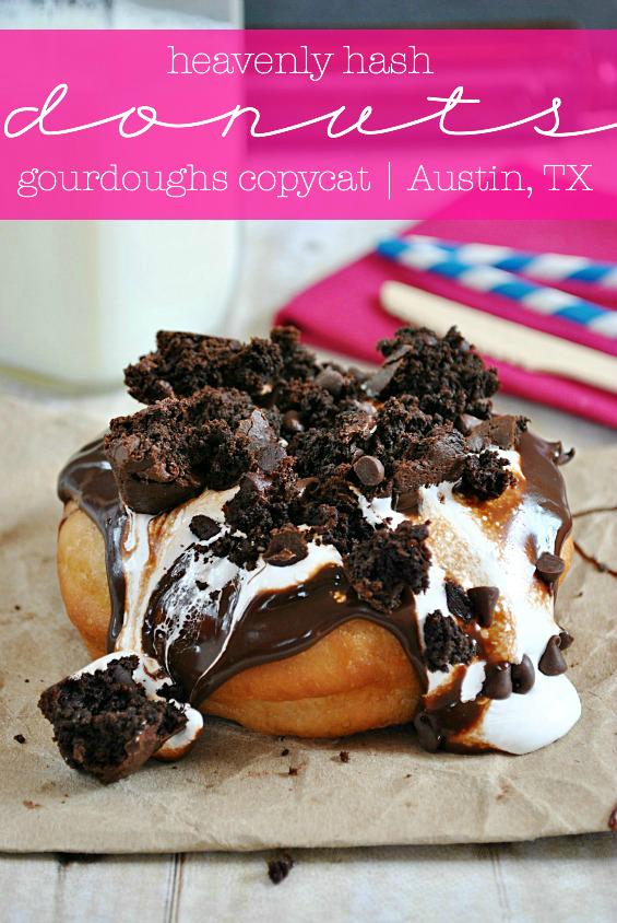 heavenly hash donuts gourdoughs copycat recipe  maria's
