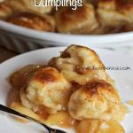 APPLE PIE DUMPLINGS