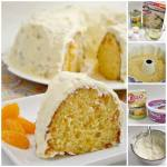 MANDARIN ORANGE CAKE WITH PINEAPPLE CAKE