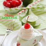 FROZEN CHERRY LIMEADE PIE