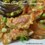Sweet Pork Fried Dumplings