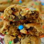 THICK CHEWY MONSTER COOKIES