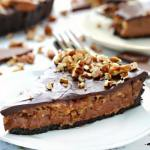 NO BAKE CHOCOLATE PECAN PIE