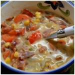 BACON POTATO AND CORN CHOWDER