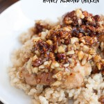 3 INGREDIENT HONEY ALMOND CHICKEN
