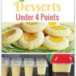 Delicious Weight Watchers Desserts Under 4 Points