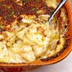 SCALLOPED POTATOES GRATIN