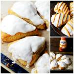 PUMPKIN SPICE CREAM SCONES