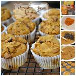 3 INGREDIENT PUMPKIN SPICE MUFFINS