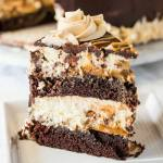 COPYCAT CHEESECAKE FACTORY REESES PEANUT BUTTER CHOCOLATE CAKE