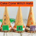 CAKE CONE WITCH HATS