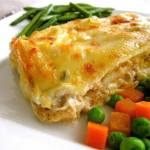 CHICKEN CREPES WITH JALAPENO CHEESE