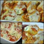 STUFFED SHELLS WITH SAUSAGE FILLING