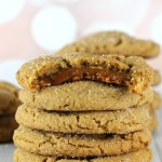 CARAMEL GINGER COOKIES